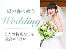 緑の森の協会 Wedding 2人の特別な日を最高の1日に